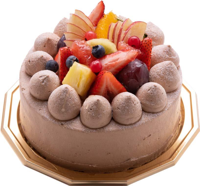 ふわふわチョコレートケーキの写真
